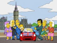 simpsons hit london