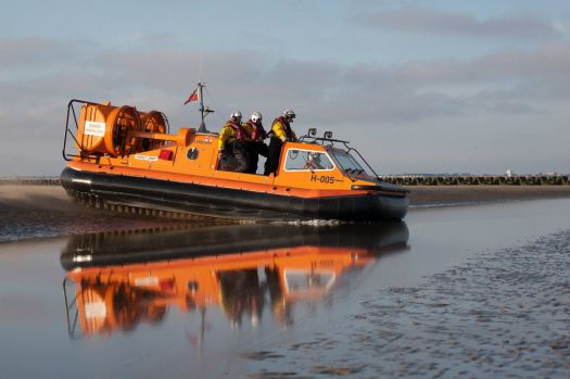 New Brighton hovercraft lifeboat