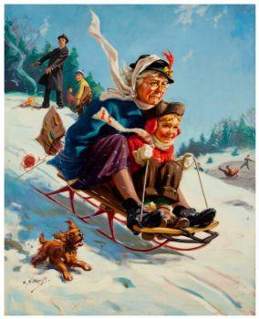 Grandma Takes a Ride