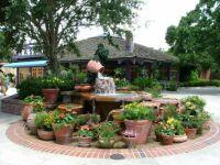 Downtown Disney  Fountain