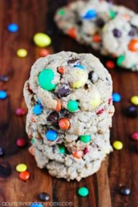 Soft and Chewy Monster Cookie