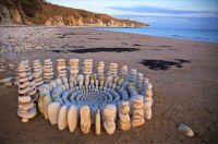 Stone Art on the beach