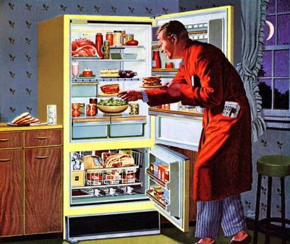 MIDNIGHT SNACK - 1950's