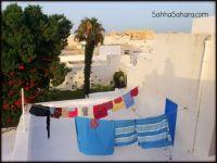 Laundry day in the medina, Tunisia
