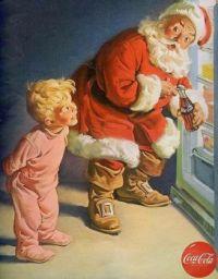 Old Santa Coke ad