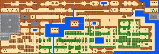 Legend of Zelda Overworld