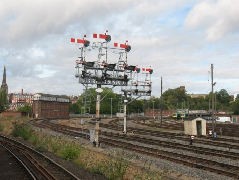 Signals at Shrewsbury