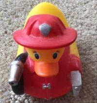 Firefighter Duck