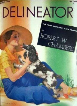 Delineator Vintage Cover