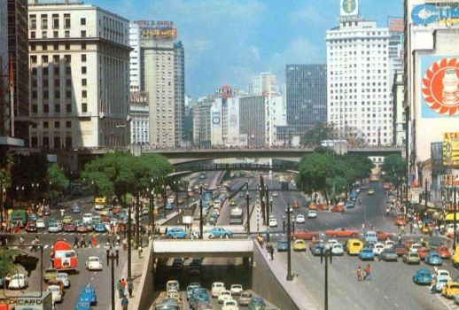 My way to highschool - 1974 - Sao Paulo