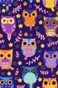 Some Owls on Purple