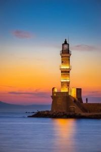 LIGHTHOUSE in Chania,  Greece