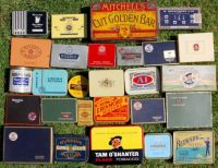 Old tobacco & cigarette tins