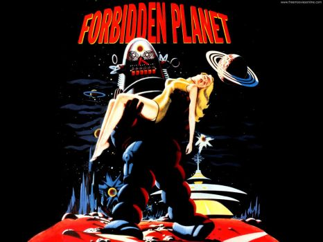 Forbidden Planet 1956 by MGM
