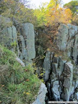 "Rock formations at ""The Shrine"", Bornholm!"
