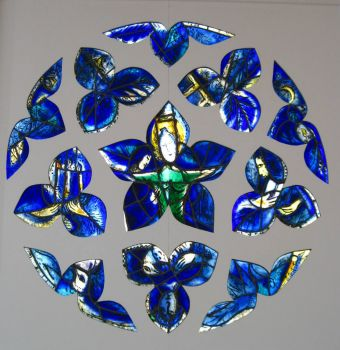 From the Chagall Museum in Nice, France