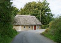 Thatched home