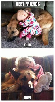 Best friends now and then