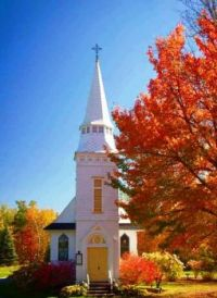 St Matthews Church, Sugar Hill, New Hampshire
