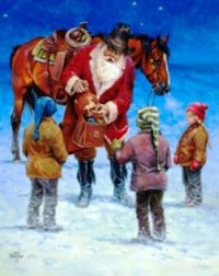 Santa's Magical Saddle Bag - Jack Sorenson