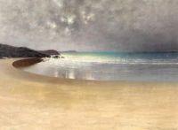 """August Hagborg, """"Beach"""""""