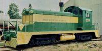 Warren & Saline River Railroad EMD SW1. Warren, AR. 08-07-1988