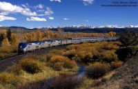 Amtrak California Zephyr at Granby, Colorado