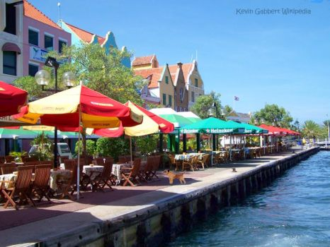 Waterfront Dining Willemstad Curacao