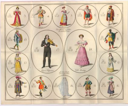 Victorian Theater Board Game