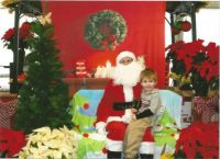 Blayne and Santa 2014