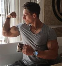 Large Watch with Biceps!