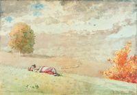 Daydreaming Winslow Homer