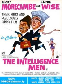 THE INTELLIGENCE MEN -  1965 POSTER  ERIC MORECAMBE & ERNIE WISE
