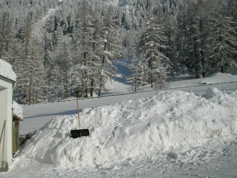 Snow in Austria