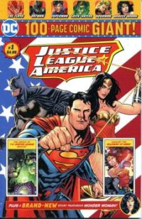 DC 100 PAGE JUSTICE LEAGUE OF AMERICA GIANT !
