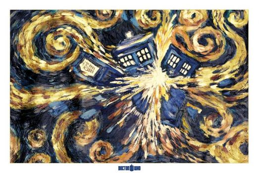The TARDIS - Vincent and the Doctor