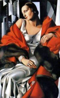 Tamara de Lempicka, Portrait of Mrs. Boucard (Portrait de Madame Boucard), 1931