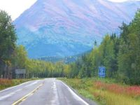 Alaska tour after the tourists & bugs left... impressionism