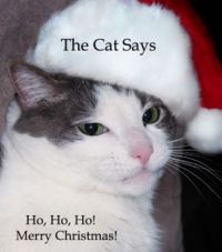 Merry Christmas from The Cat