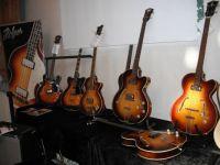 Vintage Höfner guitars  (Copenhagen Guitarshow 2014)