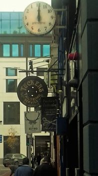 Clock in Cork City Ireland