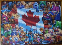 Just finished my 1000 piece Canada animals puzzle