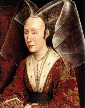 Isabella of Portugal By Van der Weyden