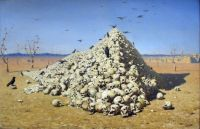 Vereshchagin. The Apotheosis of War