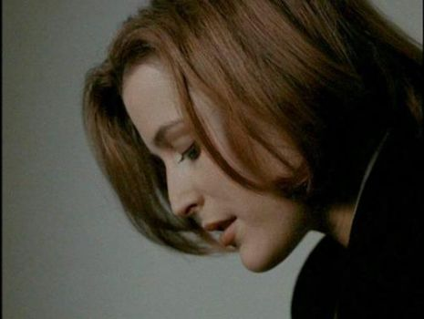 Gillian Anderson's fabulous profile (Dana Scully)