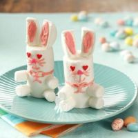 Easter Bunny Treats, recipe link included
