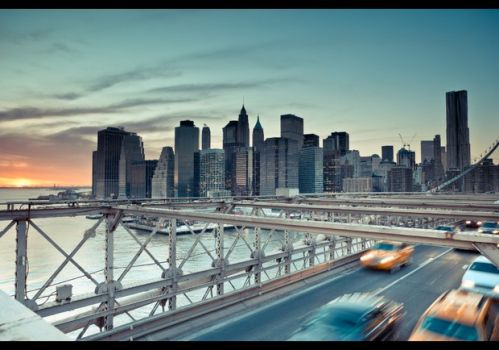 Bridge into New York