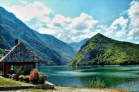 lake Perucac on river Drina
