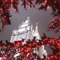 Merry Christmas from Salt Lake City, Utah