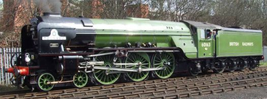 60163 Tornado at Barrow Hill - 5th Apr 2009